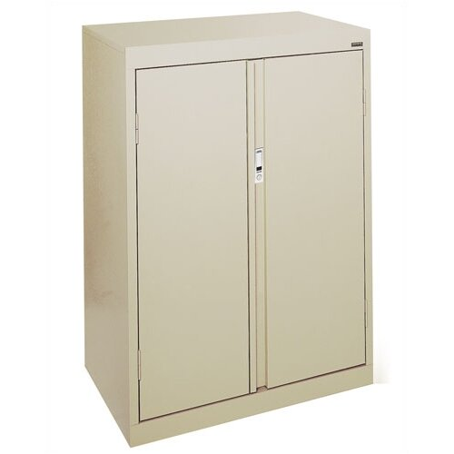 "Sandusky Cabinets Systems Series 30"" 3 Shelf Counter Height Storage Cabinet"