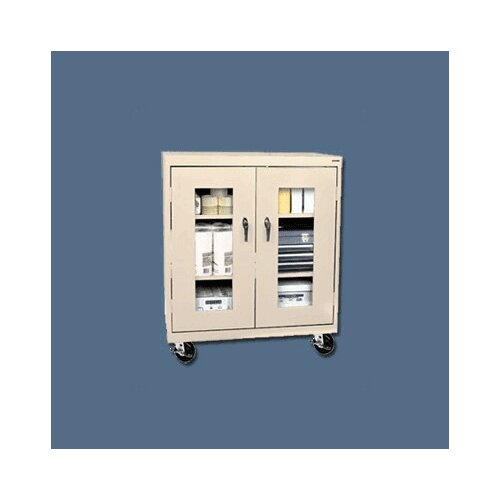 "Sandusky Cabinets Transport Clear View 36"" Storage Cabinet"