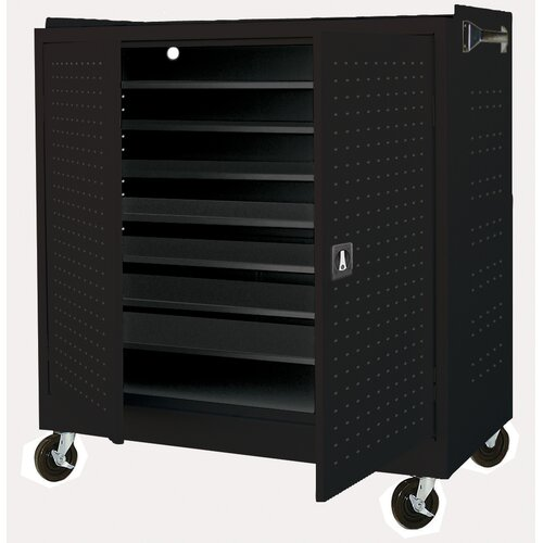 Sandusky Cabinets 24-Compartment Mobile Laptop Security Cabinet