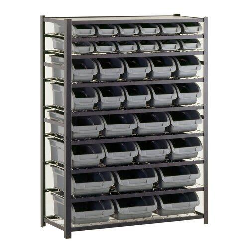 """Sandusky Cabinets 57"""" H 8 Shelf Shelving Unit Starter"""