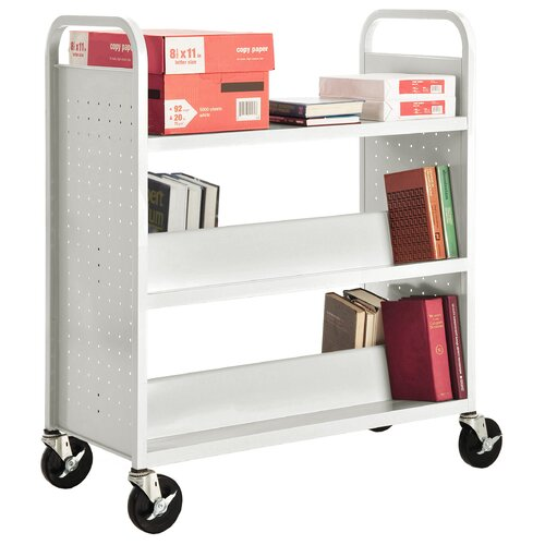 Sandusky Cabinets Combination Shelf Mobile Booktruck