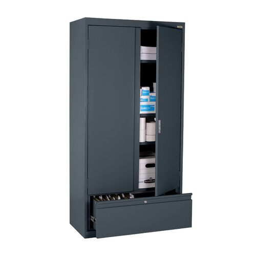 "Sandusky Cabinets Elite Series 36"" File N Store Storage Cabinet"