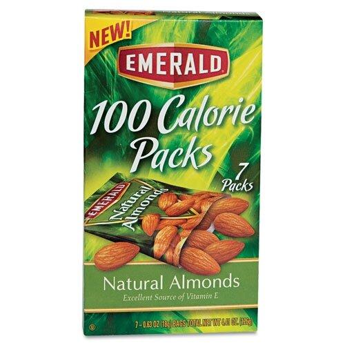 Diamond Foods, Inc. Emerald 100 Calorie Pack All Natural Almonds, 7 Packs/Box