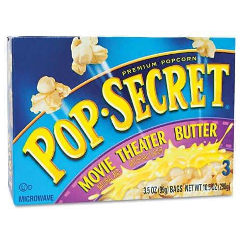 Diamond Foods, Inc. Pop Secret Microwave Popcorn, 3 Bags/Box