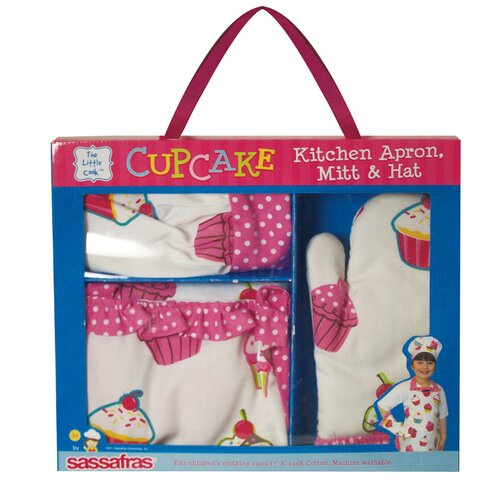 Ruffle Cupcake Apron Set