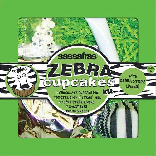 Sassafras Zebra Cupcake Kit