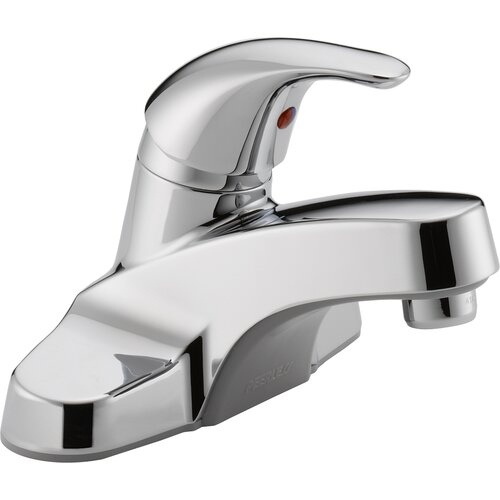 Centerset Bathroom Faucet with Single Handle