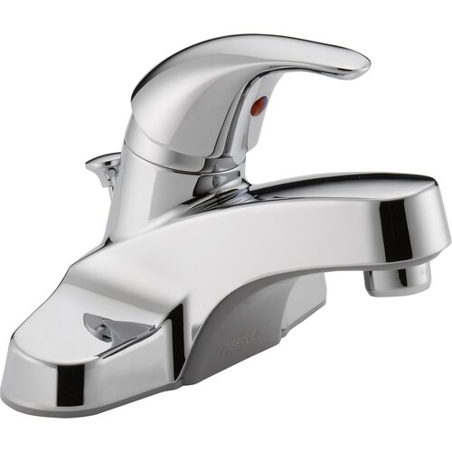 Peerless Faucets Centerset Bathroom Faucet with Single Handle