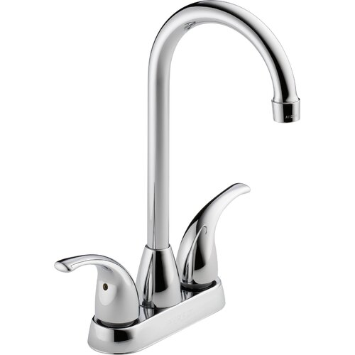 "Peerless Faucets 2.75"" Two Handle Centerset Bar Prep Faucet"