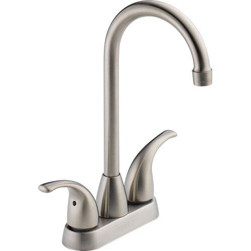 "Peerless Faucets 2.75"" Two Handle Centerset Bar Prep Faucet"