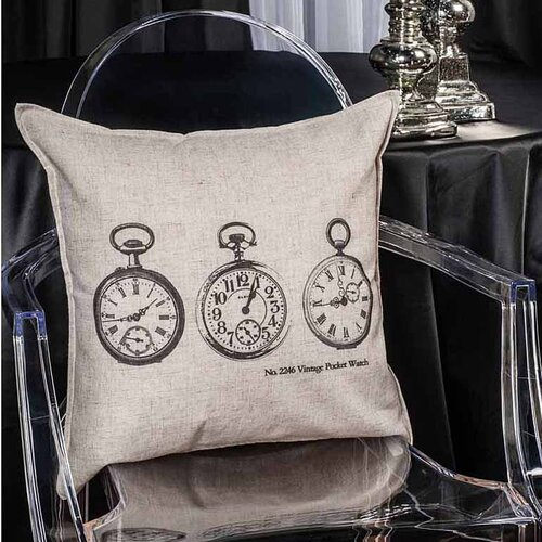 3 Pocket Watch Cushion