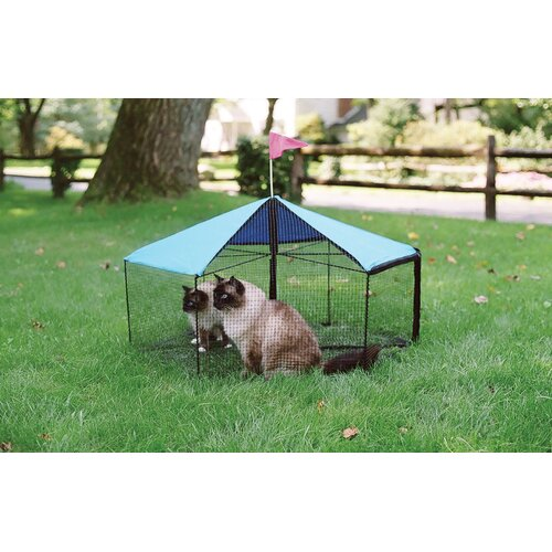 Kittywalk Systems The Carousel™ Outdoor Pet Playpen