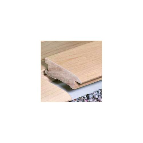 "Moldings Online 0.75"" x 2.26"" Solid Hardwood Brazilian Cherry Reducer Bilevel in Unfinished"