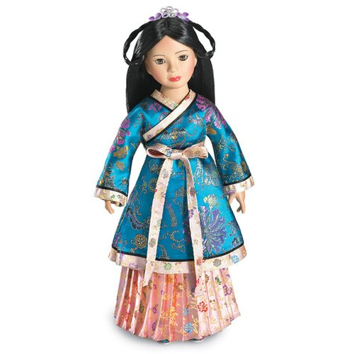 "Carpatina Yuan Dynasty  Princess Outfit for 18"" Slim Dolls"