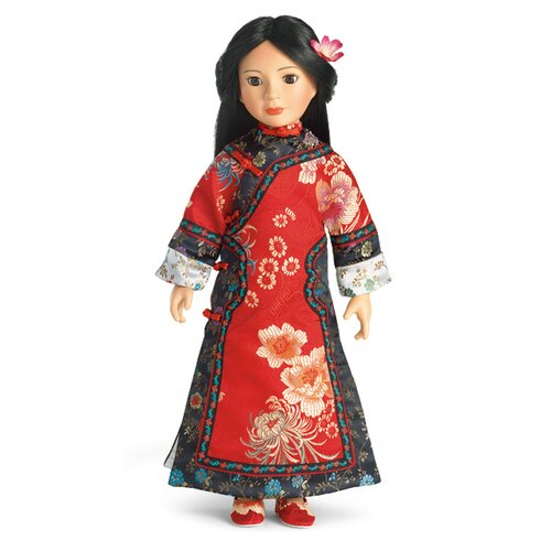 "Carpatina Yijie Asian Outfit for 18"" Slim Dolls"