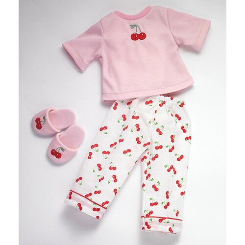 Carpatina American Girl Dolls Dreams Pajamas and Slippers