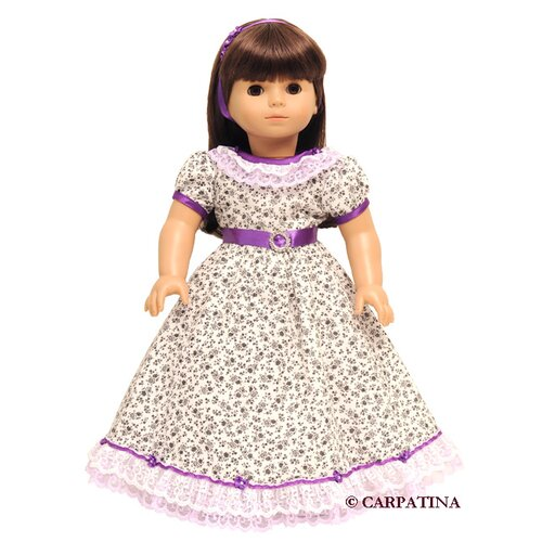Carpatina American Girl Dolls Flower Victorian Dress