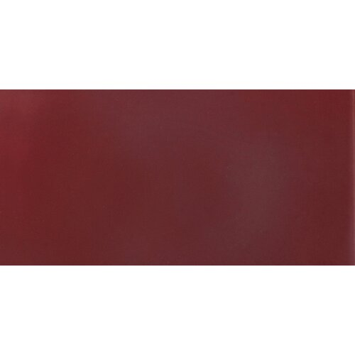 "Solistone Hand-Painted Ceramic 6"" x 3"" Glazed Single Bullnose Tile Trim in Russet"