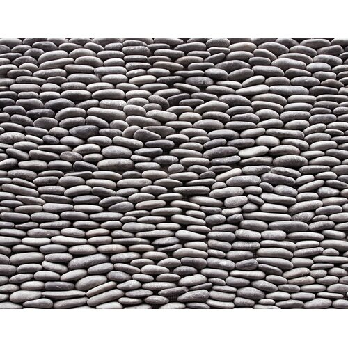 Standing Pebbles Random Sized Interlocking Mesh Tile in Cascade