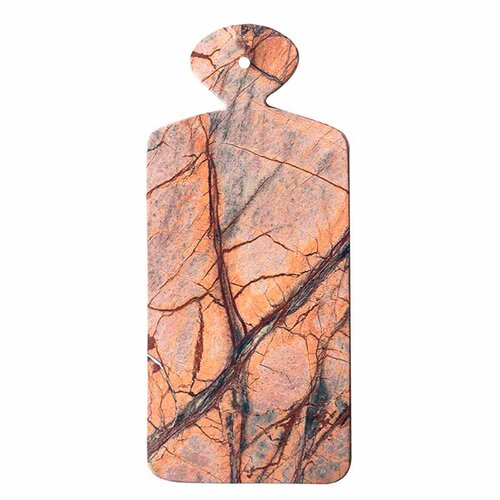 Forest Marble Rectangular Board with Small Handle