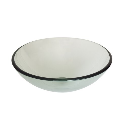 Nicole Large Modern Round Vessel Bathroom Sink