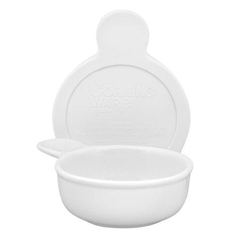 Corningware Grab Bowl with Plastic Cover