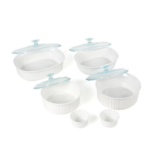 Corningware French White 12 Piece Gift Set