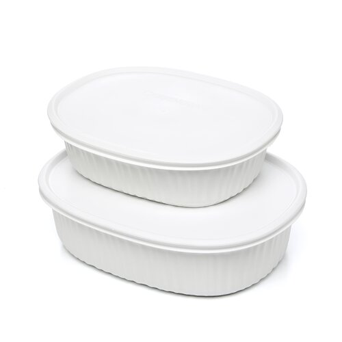 Corningware French White Oval Mini Set
