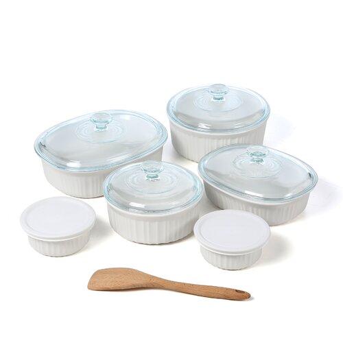Corningware French White 12 Piece Bake and Serve Set