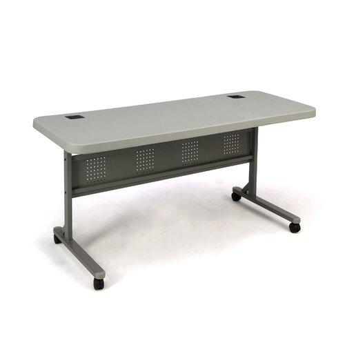 "National Public Seating Commercialine 60""  Rectangular Folding Table"
