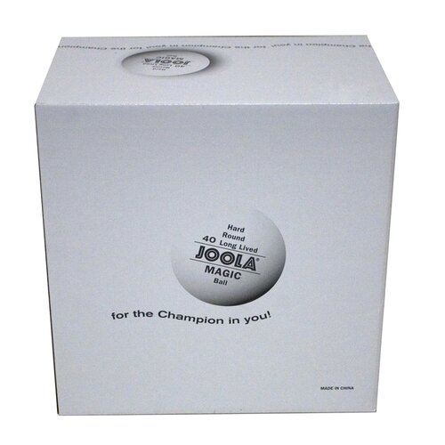 Joola USA Magic 2 Star Training Ball - 144 Count in White