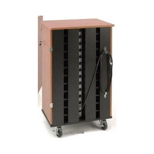 Oklahoma Sound Corporation 24-Compartment Laptop Charging Storage Cart