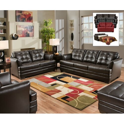 Simmons Upholstery Manhattan Sleeper Sofa & Reviews | Wayfair
