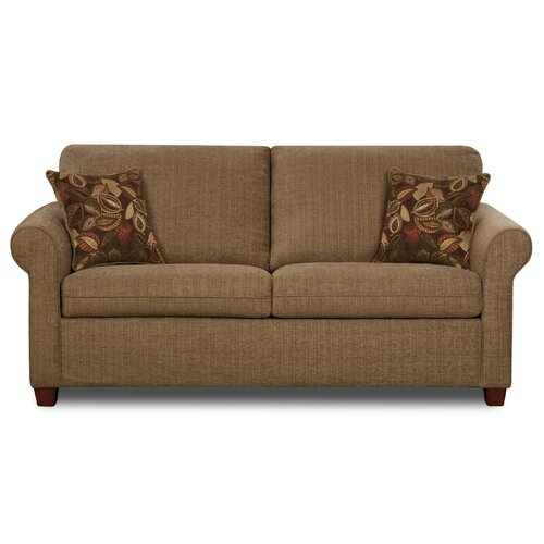 Simmons Sleeper Sofa: Simmons Upholstery Cullen Full Sleeper Sofa & Reviews