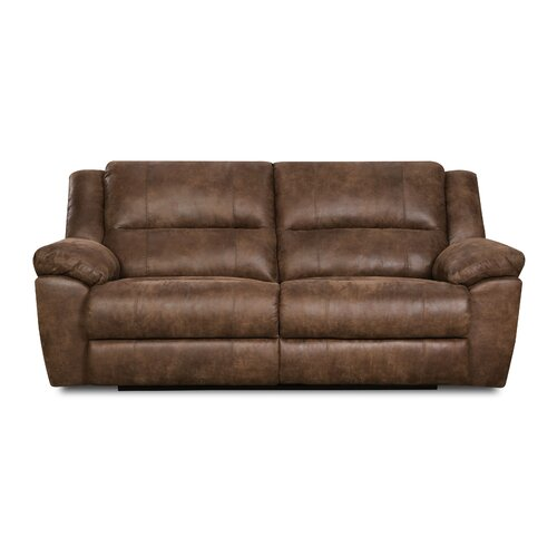 Simmons Upholstery Phoenix Mocha Double Motion Sofa Reviews Wayfair