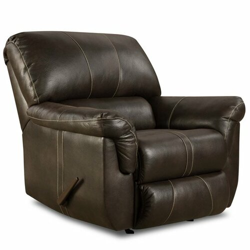 Blackjack Bonded Leather Power Rocker Recliner Wayfair