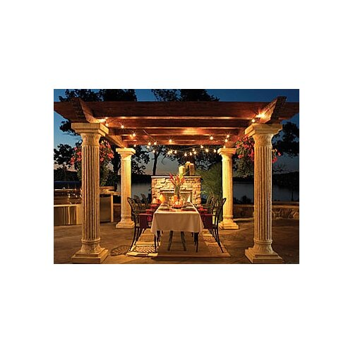The Outdoor GreatRoom Company Tuscany 7' H x 2' W x 2' D Pergola Pillar