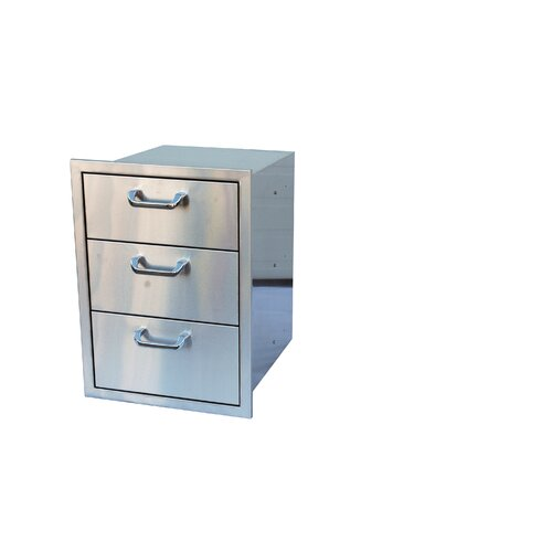 Triple Drawer Storage