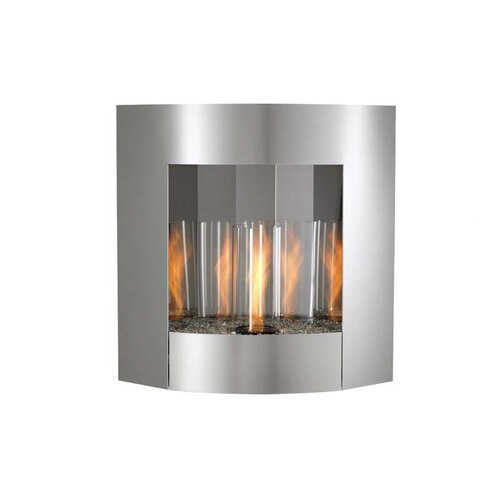 The Outdoor GreatRoom Company Inspiration Wall Mounted Gel Fuel Fireplace