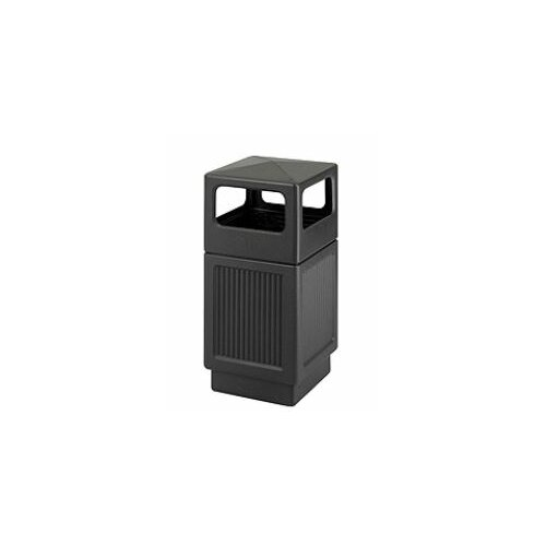 Safco Products Company Canmeleon Side-Open Square Receptacle