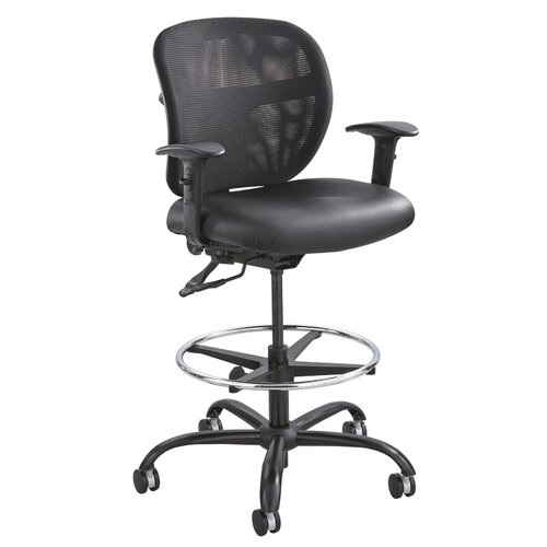Safco Products Company Height Adjustable Heavy Duty Stool