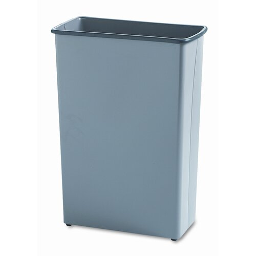 Safco Products Company 22-Gal. Square Wastebasket
