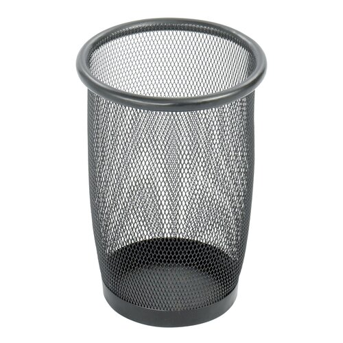 Safco Products Company Onyx 6.88-Gal. Round Mesh Wastebasket