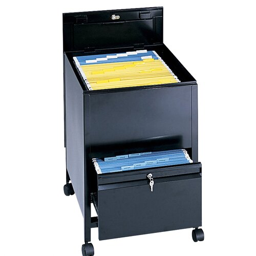 "Safco Products Company 28"" Extra-Deep Locking Legal Tub File"