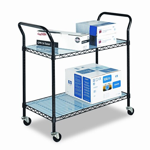 "Safco Products Company 40.5"" Wire Utility Cart"