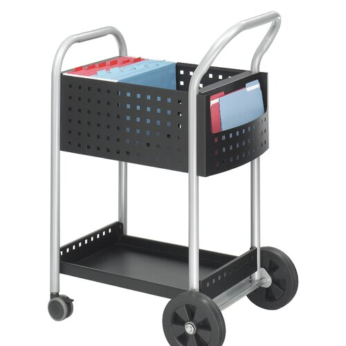 "Safco Products Company Scoot 40.5"" Mail Cart"