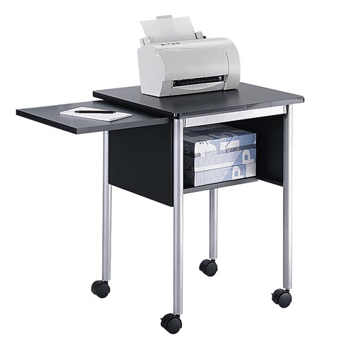 Safco Products Company Machine Stand with Slide-Away Shelf
