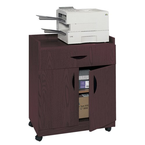 Mobile Machine Stand with Pullout Drawer