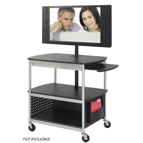 Safco Products Company Scoot Flat Panel Multimedia Cart