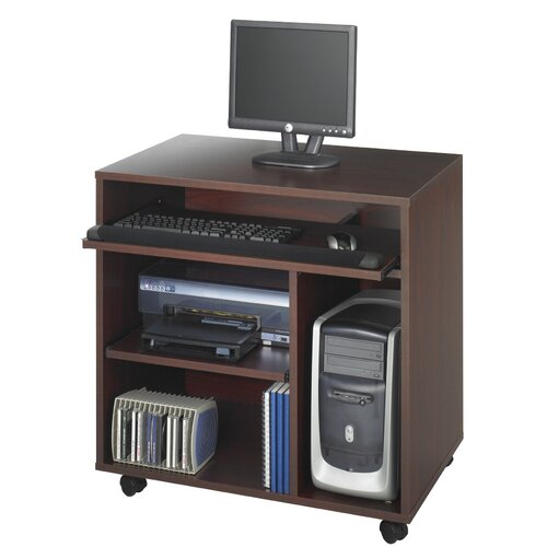 "Safco Products Company Ready-To-Use Pc 32""W x 20""D Computer Table"